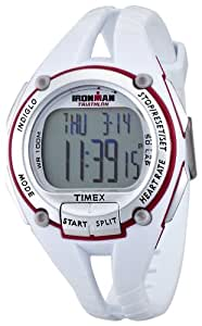 TIMEX Ironman Heart Rate Monitor 50 lap mid size white T5K448