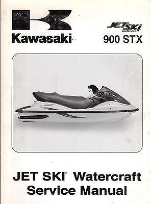 2004 KAWASAKI JET SKI 900 STX WATERCRAFT SERVICE MANUAL P/N 99924-1327-01 (150)