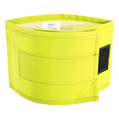 3 Lime Yoko Braccio Alta Ad Visibilità confezione Impermeabile Fascia Da Verde v7rqv8