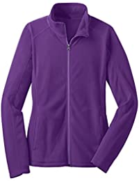Women's Emoticon Full-Zip Fleece Jacket Including Plus Sizes