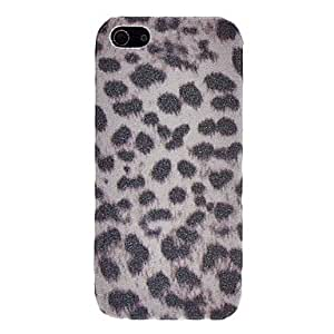 Buy Shimmering Leopard Print PC Hard Case for iPhone 5/5S (Assorted Colors) , Yellow