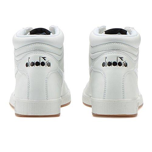 a Alto High Game bianco Diadora P Sneaker Adulto Unisex Collo wnqABvIf