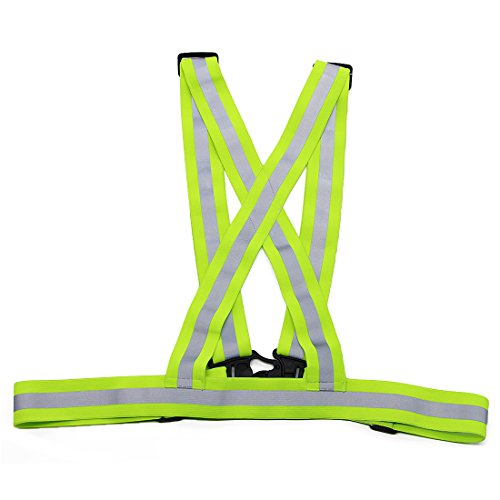 Unlimited Potential Safety Gear Reflective Vest High Visibility Day And Night for all Outdoor Activities (1 Vest)