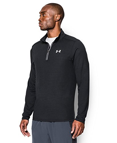 Under Armour Men's Streaker Run 1/4 Zip , Black (001)/Reflective, Small by Under Armour (Image #2)