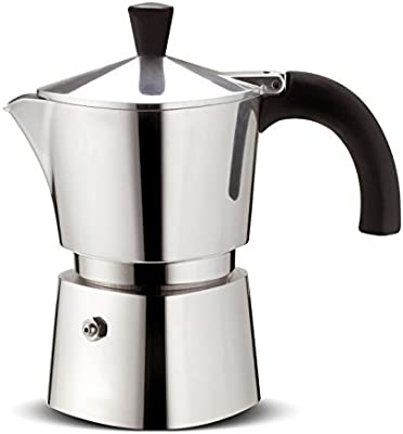 Lagostina Brava cafetera Acero Capacidad 1 Taza de Aluminio ...