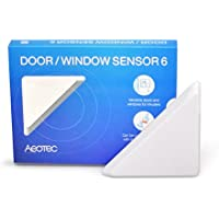 Aeotec Door / Window Sensor 6, Z-Wave Plus magnetic contact, Paintable any color, Security & Automation