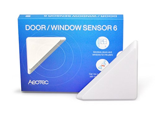 Aeotec by Aeon Labs ZW112 ZW112-A Door/Window Sensor 6 Small White