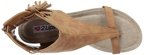 Chill Too Women Tan Sandal 2 Dress Lips qz5Tt