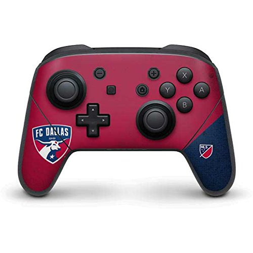 FC Dallas Nintendo Switch Pro Controller Skin - FC Dallas Canvas Vinyl Decal Skin For Your Switch Pro Controller by Skinit