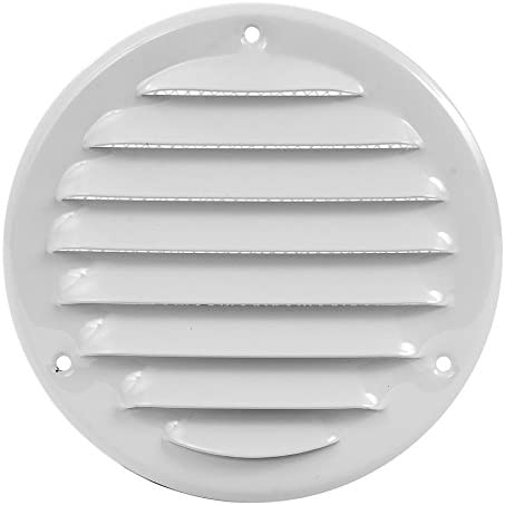 Rejilla de ventilación (240 mm de diámetro), color blanco