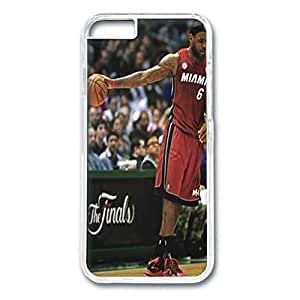 Iphone 6 Case,Hard PC Iphone 6 Protective Case for Ultimate Protect iphone 6 with LeBron James by runtopwell