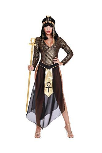 Egyptian Halloween Costumes 2019 (Dreamgirl Women's Queen Cleo, Costume,)