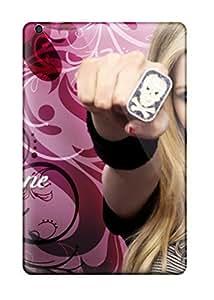 New Design Shatterproof OcYZaIs5332ZypYz Case For Ipad Mini/mini 2 (avril Lavigne Pink Girls Desktop )