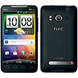 au HTC EVO WiMAX ISW11HT ブラック Android スマートフォン 白ロム 携帯電話本体