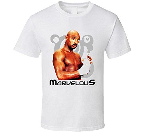 (Marvin Hagler Boxing Legend T Shirt XL White)