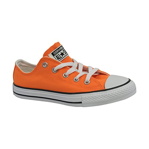 Converse Boys Chuck Taylor All Star (Neon Orange, 3 M US Little Kid)