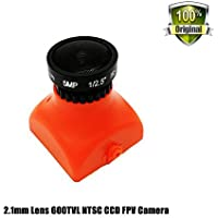 FPV Camera HS1177 Mini 600TVL NTSC 26mm 2.1mm Lens CCD for FPV Racing Drone Quad QAV250 Low Power