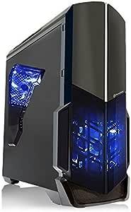 SkyTech Shadow GTX 750 Ti Gaming Computer Desktop PC FX-4300 3.80 GHz Quad Core, GTX 750 Ti 2GB, 8GB DDR3, 1TB HDD, 24X DVD, Wi-Fi USB, Windows 10 Pro 64-bit (GTX 750 Ti | FX-4300)