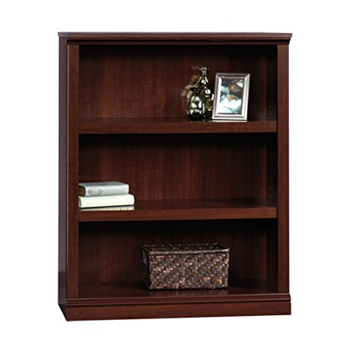 Sauder 3-Shelf Bookcase, Select Cherry Finish by Sauder