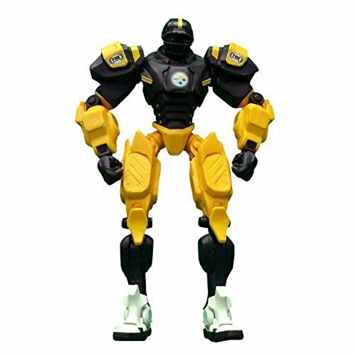 "Pittsburgh Steelers 10"" Team Cleatus FOX Robot NFL Football Action Figure Version 2.0"