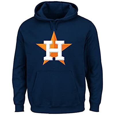 Houston Astros MLB Men's Scoring Position Pullover Hooded Fleece (Small)