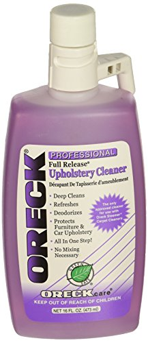 oreck steam cleaner solution - 4