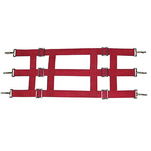 Red 16 X 48 Red 16 X 48 Intrepid International Poly Web Stall Guard