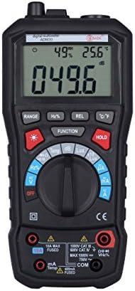 BSIDE ADM30 5-in-1 Auto Range Multimeter DMM AC DC Voltage Lux Sound Level Freq