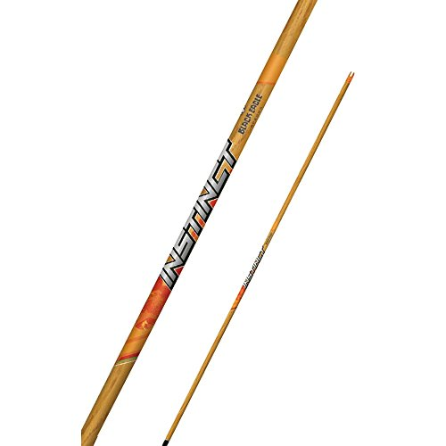 Black Eagle Instinct Micro-Diameter Traditional Hunting Dozen Arrow Shafts-500 spine.005 (Traditional Eagle)