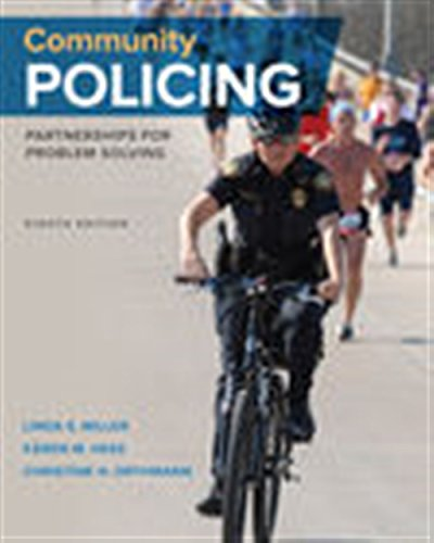 Community Policing Partnerships for Problem Solving MindTap Course List