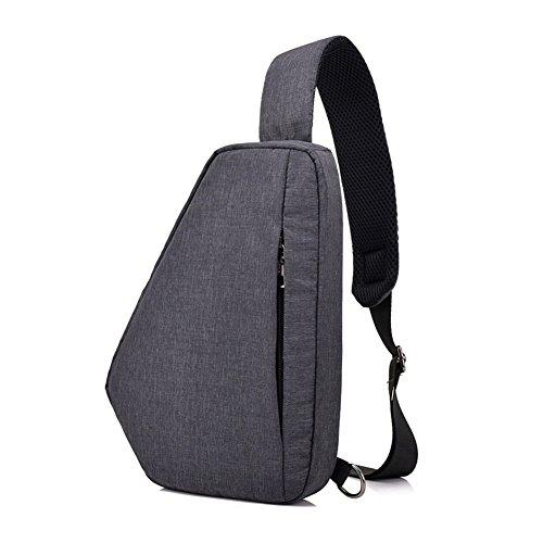 moda para Bolso viajar Majome del la del los hombro bolso mensajero cruzado antirrobo de de hombres Black de Crossbody Bolsos del Uddfqa