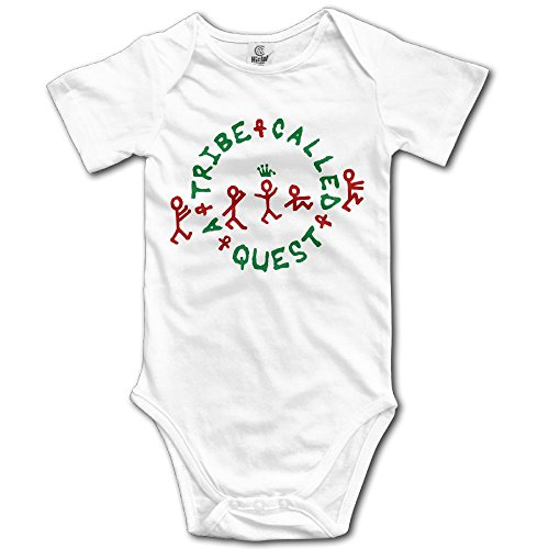 Grace Little A Tribe Called Quest Logo Unisex Vintage Toddler Romper Baby Girl Outfits 18 Months White