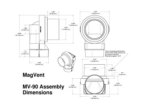 magvent-mv-90-magnetic-dryer-vent-coupling