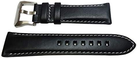 [シチズン】 CITIZEN 時計ベルト バンド 23mm 黒色 牛革カーフPMV65-2272純正ベルト メンズ 尾錠なし