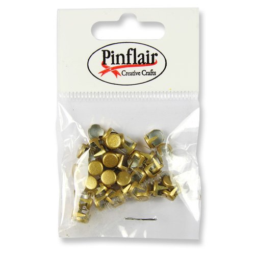 Pinflair Metal Studs, pk of approx 50 - Gold