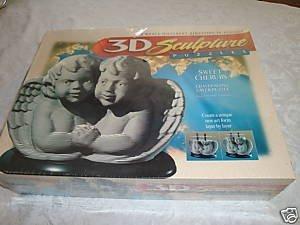Sweet Cherubs 3D Sculpture ()