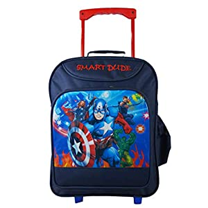 QT Sizzling Polyester Blue Children's Luggage