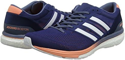 adidas Adizero Boston 6 Women's Running Shoes SS18, Navy