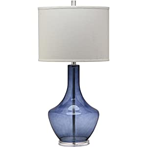 Safavieh Lighting Collection Mercury Light Blue 33-inch Table Lamp