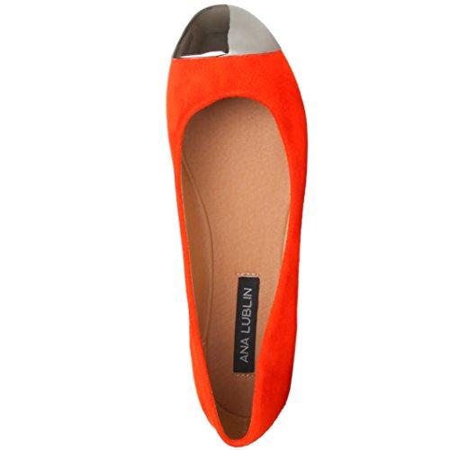 Ana Lublin Damen Schuhe Ballerinas rot -39