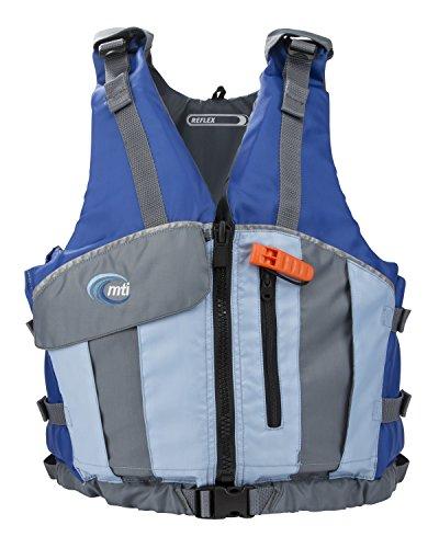 MTI Adventurewear Reflex PFD Life Jacket, X-Large/Xx-Large, Blue/Sky