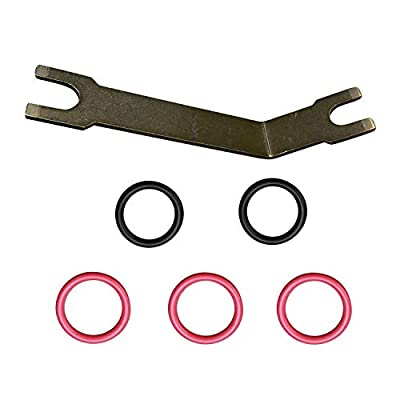yjracing High Pressure Oil Pump Quick Disconnect Tool W/O-Ring Seal Kit Fit for Ford 7.3 7.3L Powerstroke Diesel: Automotive