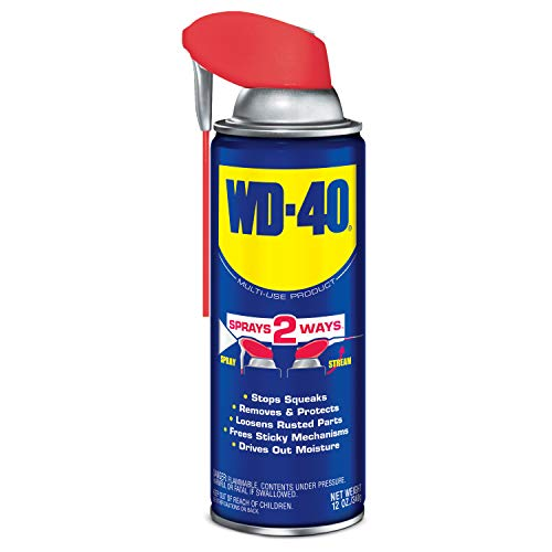 WD40 Company 490057 Multi-Use Lubricant Penetrant Smart Straw Spray - 12 oz.