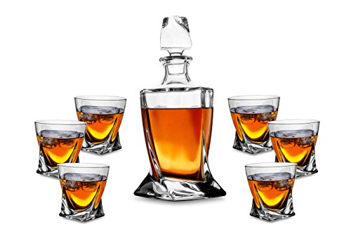 KANARS 7 Piece Decanter Fashioned Tumblers product image