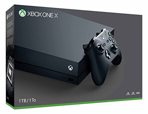 Microsoft Xbox One X 1TB, 4K Ultra HD Gaming Console, Black (Certified Refurbished)