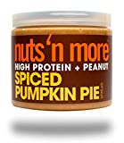 Cheap Nuts 'N More Spiced Pumpkin Pie Peanut Spread, High Protein, Keto, Great Tasting, All Natural Sports Nutrition, 16 oz Jar
