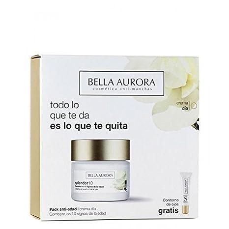 Bella Aurora Splendor10 Crema Día Y Contorno de Ojos: Amazon.es