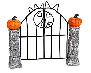 Darice 3115-398 Halloween Miniscape Gate, 4.5 X 4