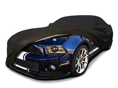 CarsCover Custom Fit 2005-2014 Ford Shelby GT350 / GT500 Car Cover for 5 Layer Ultrashield Black Mustang GT 350 GT 500