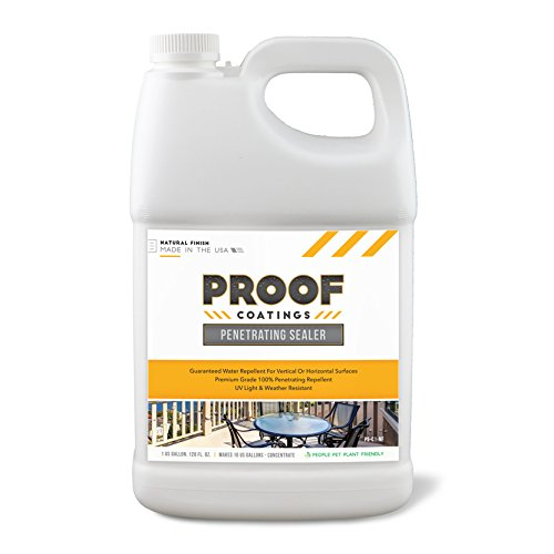 Proof Coatings PS-C1-NF Penetrating Sealer, Clear